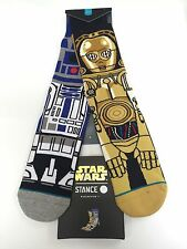 STANCE STAR WARS COLLECTION DROID socks Brand New!!!! ARTOO /RDD2 & C3PO