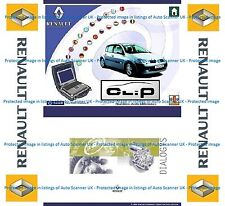Renault CAN CLiP V164, Dialogys full in English, French or German, Re-Prog V151