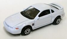 1999 Rare Ford Mustang GT 1st Year 1/64 Diecast White - Rare !!