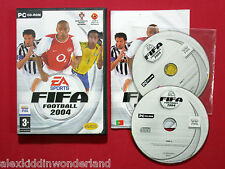 FIFA FOOTBALL 2004 + TOTAL CLUB MANAGER 2004 DEMO PC CD-ROM PORTUGAL VERS. RARE