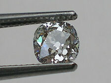 0.79 ct GIA Certified, Antique Old Miner's Cut Diamond; K, SI2; Laser Inscribed