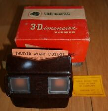 BOXED VINTAGE SAWYER'S VIEW-MASTER VIEWER ORIGINAL 50s MODEL E BAKELITE RETRO