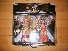 *WWE HULK HOGAN & ULTIMATE WARRIOR DUAL SIGNED CLASSIC SUPERSTARS ONSITE PROOF*