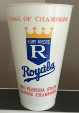 1985 World Series Champions KC Royals Ft. Myers Florida Home Of Champs Rare Cup
