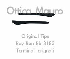 RAY BAN 3183 TERMINALI EARSOCK MATTE BLACK - ORIGINAL REPLACEMENT RB 3183