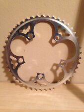 Willow Chainring 46t - 110 bcd - Silver Alloy - Single/Fixed/Geared - Rivendell