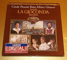 3 Lp London Digital LDR 73005 Ponchielli La Gioconda Pavarotti Caballe Vinyl