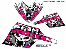 ALL YEARS ARCTIC CAT 120 MINI GRAPHICS KIT DECO WRAP DECOR PINK