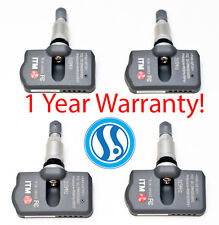 4 TPMS Tire Pressure Monitoring System Sensors 315mhz Acura 2013-2016 ILX