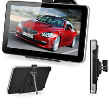 "SLIMLINE 7"" INCH CAR GPS SAT NAV NAVIGATION FREE UPDATES+WORLD MAPS 3YR WTY TOM"