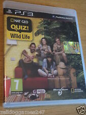 Nat Geo Quiz! la vida silvestre National Geographic (ps3) Nuevo Y Sellado