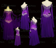 BALLROOM/STANDARD DANCE TAILORED  DRESS WITH HIGH QUALITY  STONE ST229