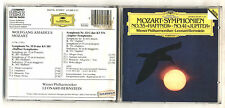 Cd LEONARD BERNSTEIN Mozart Symphonien No 35 HAFFNER No 41 JUPITER Deutsche