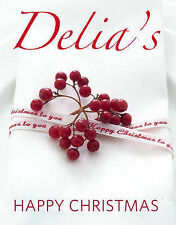 Delia's Happy Christmas by Delia Smith (Hardcover, 2009)  NEW  Great Gift