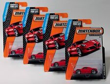ALFA ROMEO 4C * LOT OF 4 * 2015 MATCHBOX