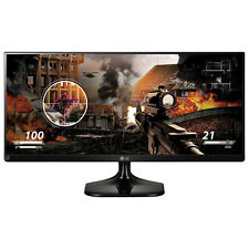 "LG 29"" UltraWide FHD 60Hz 14ms IPS LED Monitor (29UM58-P.AUS) - Black"