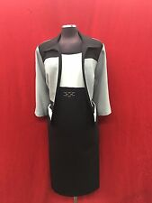 SANDRA DARREN DRESS SUIT/SIZE 18W/PLUS SIZE/LENGTH 41'retail$169/new with tag