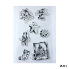 Christmas Elements clear stamp rubber stamp for DIY Scapbooking Paper Craft