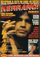 Slash on Kerrang Cover 1995      Queensryche   Skid Row