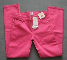 NEW Gymboree 8 PLUS Girls Wild For Horses Pink Jeans Pants Rhinestones Orig $33