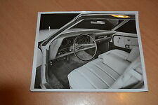 PHOTO DE PRESSE ( PRESS PHOTO ) Ford Torino tableau de bord de 1974 GM014