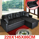 PU Leather Sofa Couch Lounge Corner Suite Furniture Chaise Set New