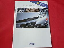FORD Focus Ambiente Trend Ghia Prospekt von 1998