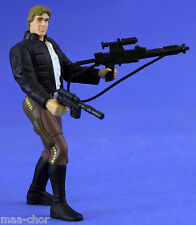 STAR WARS POTF LOOSE RARE HAN SOLO BESPIN GEAR MINT CONDITION. C-10+
