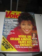 SOPHIE MARCEAU Poster Affiche Promo de Presse Plakat VOICI 1990 rare !