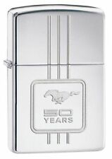 BRIQUET ZIPPO NEUF - FORD MUSTANG CHROME ( 50 ans ) - 2016