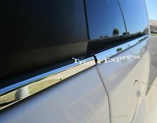 2004-2010 Dodge Durango 4Pc Window Sill Trim Stainless Steel
