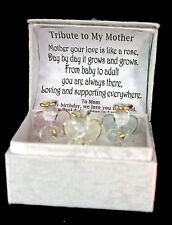 Mother of the Bride Unusual glass Angel box personalised wedding gift present