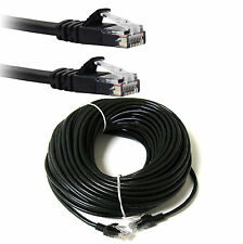 40m External Outdoor Network Ethernet Patch Cable Cat5e LAN PC Router Modem RJ45