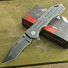 Kershaw Lifter 3Cr13 Blackwash Tanto Stainless Handle Folding Knife 1302BW