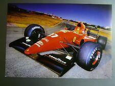 1992 Ferrari F 92 A Formula 1 Race Car Print, Picture, Poster RARE! Awesome L@@K