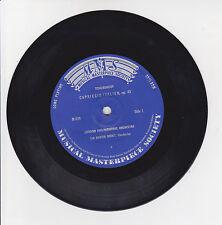 TCHAIKOWSKY Vinyl 33T 17cm CAPRICCIO ITALIEN OP 45 LONDON Classique MMS 939 RARE