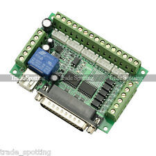 MACH3 5 Axis CNC Breakout Interface Board for Stepper Motor Driver CNC Mill