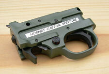 Hornet Custom Spitfire 2.75 O.D. Green HousingTrigger Assembly for Ruger 10/22