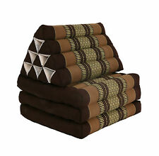 Thai Three Fold Triangular Cushion - Brown