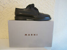 Marni Women's Lace-Up Brogue Leather Shoes