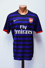 ARSENAL LONDON 2012/2013 AWAY FOOTBALL SHIRT JERSEY MAGLIA NIKE ENGLAND