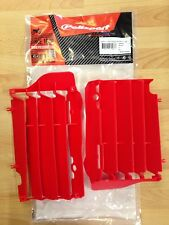 POLISPORT RADIATOR LOUVRES RAD GUARDS  HONDA  CRF 450  2015  2016  RED