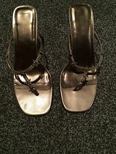 Barratts Antique Gold Sandals Size 6 Used Only Worn Once Excellent Condition