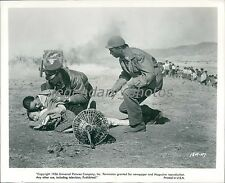 1956 Battle Hymn Original Press Photo Rock Hudson
