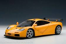 McLAREN F1 LM EDITION HISTORIC ORANGE 1:18 by AUTOART BRAND NEW RELEASE IN BOX