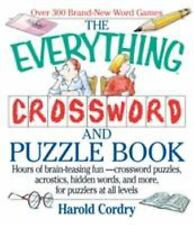 The Everything Crossword and Puzzle Book