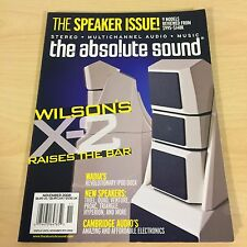 The Absolute Sound Issue 186, 2008 TAS Wilson X-2 Speakers Cambridge Quad ProAc