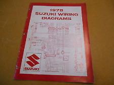 1978 Suzuki Wiring Diagram for C Models