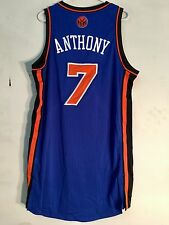 Adidas Authentic NBA Jersey Knicks Carmelo Anthony Blue sz XL
