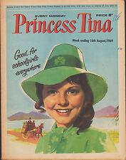 Princess Tina Magazine 16 August 1969     Booker T. & The M.G.'s